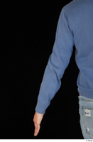 Hamza arm blue sweatshirt dressed upper body 0004.jpg